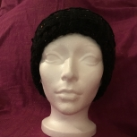 knitted slouch hat #2