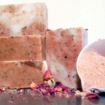 Shea Butter Rose Bars