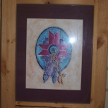 watercolor sheild