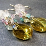 Gorgeous Lemon Topaz Earrings
