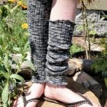 Zebra Leg Warmers