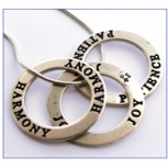 Sterling silver affirmation rings... wear your inspiration!