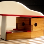 Case study Modern Birdhouse in White