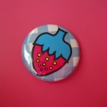 Strawberry Picnic Pin