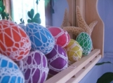 Crocheted Egg Decoration