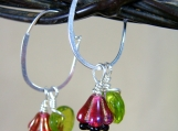 Sterling Silver & Czech glass