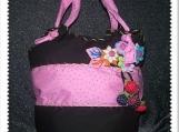 Brazilian Strawberries Field Handbag / Spring Summer