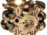 Silver Blue Gem Ring - Elegance Collection