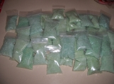 50 BAGS OF MINERAL BATH SALTS--PICK YOUR OWN FRAGANT