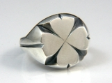 Clover Ring Original in silver