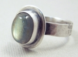 Glow - Labradorite and Sterling Silver Ring