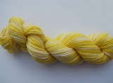 Hand Painted Yellow Sock Yarn