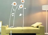 "ShaNickers-""Sunflowers"" Wall Decal, FREE SHIPPING"