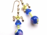 Bonny Blue Butler earrings