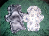 CALLIE'S SET OF 2 BABIES FIRST SOFT CLOTH DOLLS BLUES GINGHAM SO CUTE