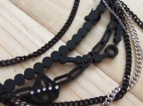 Cheshire Cat Chain (black)