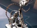 Metal Wire Cat