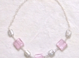 Pink Ice Necklace