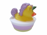 Purple Unicorn Rubber Duck Glycerin Soap