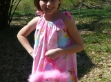 Girl's Princess Dress with a Matching Purse
