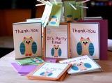 Owl Birthday Party Package