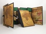 Standing Travel Photo Display - Double Tri-Shutter Album