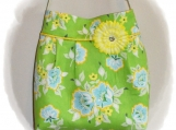 Tootles Boutique Bag - Church Flowers Designer Fabric