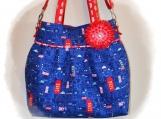 Tootles Boutique Bag - Cool Britannia Designer Fabric