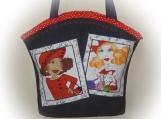 Tootles Boutique Bag - Denim Loralie Harris Designer Fabric