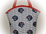 Tootles Boutique Bag - Houston Texans Designer Fabric