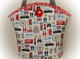 Tootles Boutique Bag - I Love London Designer Fabric