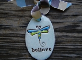 Believe wall tag