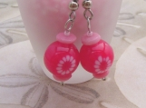 Pink Earrings - For the Canadian Breast Cancer Foundation