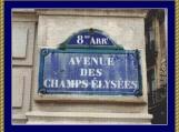 Champs Elysees Cross Stitch Pattern