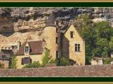 Dordogne House, France Cross Stitch Pattern