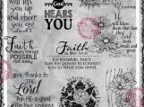 Faith, God Hears You Digital Word Art and Image Set