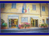 Hotel Berchielli, Florence Cross Stitch Pattern