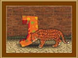 J Is For Jaguar Cross Stitch Pattern