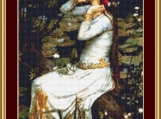 Ophelia Source Cross Stitch Pattern