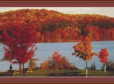Pennsylvania Landscape Cross Stitch Pattern