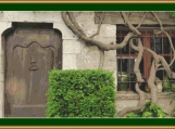 Provence Doorway Cross Stitch Pattern