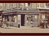 Shops In Honfleur Cross Stitch Pattern