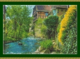 Stream In Kaysersberg Cross Stitch Pattern