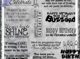 The Dreaded Birthday Digi Word Art Set
