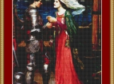 Tristan And Isolde Cross Stitch Pattern