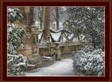 Winter In Paris Cross Stitch Pattern