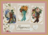 Boots Cross Stitch Pattern