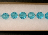 Turquoise Glass beaded Bacelet