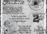 Happy Bday 2 You Digi Image and Word Art Set