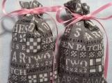"Gray 3""X2"" Sachet-'Warm Vanilla Sugar'Fragrance-Cindy's Loft-622"